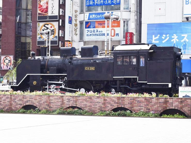 新橋駅西口広場(SL広場)SL前